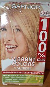 Garnier  Vibrant Colors Nutrisse Gel Creme 800 Medium Natural Blonde B3 B6