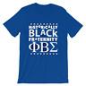 Historically Black Fraternity Phi Beta Sigma Mens T-shirt  blue Sigmas Greek