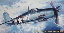 Hasegawa F6F-3 Hellcat USS Essex Aircraft ( 09134 )  1/48