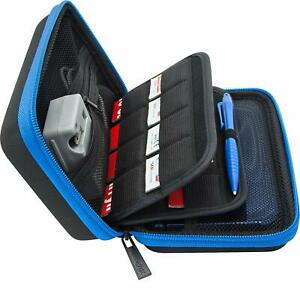Nintendo DS Phat, 2DS XL  3DS Travel Carry Case,24Card holder,Fits Wall Charger