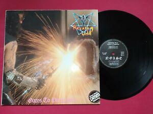 RUNNING WILD GATES TO PURGATORY 1984 NOISE VINYL LP RECORD HEAVY METAL