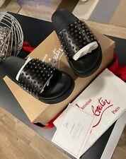 Christian Louboutin Black Sandals