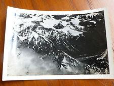 Lot32 - WW2 Original Photo AERIAL Photo of a MOUNTAIN RANGE