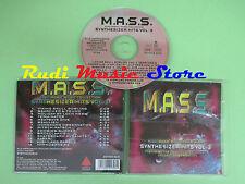 CD M.A.S.S. SYNTHESIZER VOL 3 compilation STEPHANKASKE (C20) no mc lp dvd vhs