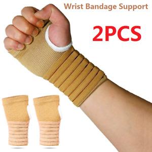 1Pair Support Gloves Arthritis Carpal Tunnel Weak Hand Wrist Aching Compressions