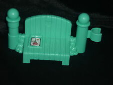 Fisher Price Little People Park Bus Stop BENCH Fence