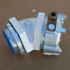 """New T&B 5349Gr 3"""" Conduit Connector w/ 45 Degree Angle"""