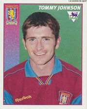 N°047 TOMMY JOHNSON ASTON VILLA.FC STICKER MERLIN PREMIER LEAGUE 1997