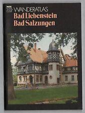 """tourist-WANDERATLAS """"Bad Liebenstein Bad Salzungen"""""""