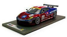 BBR 1/18 2007 FERRARI F430 GT FIA GT CHAMPIONS TEAM AF CORSE DIRTY VERSION