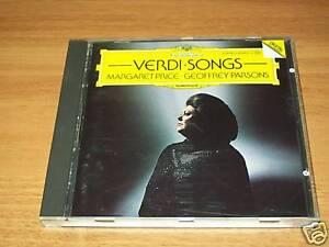 CD+-VERDI-COMPOSIZIONI PER CANTO E PIANOFORTE-PRICE-DG