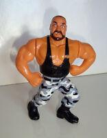 FIGURINE VINTAGE 90'S CATCH WWF HASBRO 1991 - BUSHWACKERS BUTCH (11x9cm)