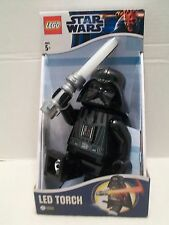 Lego #LGL-TO3B Star Wars Darth Vader LED Torch With BatteriesNIB 2012!