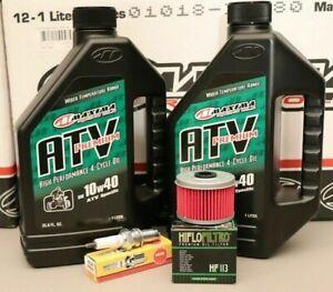 Honda TRX400EX Tune Up Kit Engine Oil Change NGK Spark Plug Oil Filter 400EX