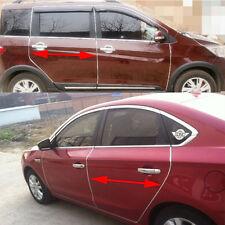 13ft Chrome Car Door Edge Rim Guard Molding Trim DIY Protectors Decoration Strip