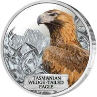 Tasmanian Wedge Tailed Eagle 1oz Silver Proof Coin 2012 Endangered and Extinct