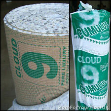 Cloud 9 Cumulus 11mm Thick PU Carpet Underlay Rolls UK Manufactured | Any Size