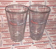 Coors Light NFL Football Official Beer Glasses - 16oz COORS LIGHT Pub Glass #21