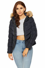Faux Fur Hood Regular Size Coats, Jackets & Vests for Women