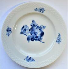 Vintage Royal Copenhagen Blue Flower Dessert Cake Lunch Bread Plate Dish 1958