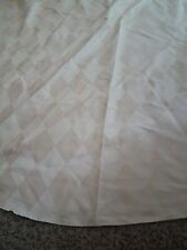 Round Circle Table Cloth Tan Fabric