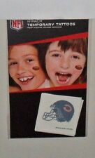 NFL CHICAGO BEARS 4 TEMPORARY TATTOOS FAST FREE SHIPPING