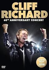 Cliff Richard 60th Anniversary Concert DVD 2018 Region 2