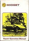 MG Midget Original Repair Operation (Workshop) Manual 1500cc 1975 AKM 3327