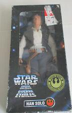 """STAR WARS VINTAGE SERIES 12"""" HAN SOLO FIGURE KENNER 1996"""