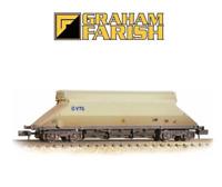 "Graham Farish 377-103 90 Tonne glw JGA Bogie Hopper VTG"" Weathered N Gauge"