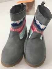Gymboree Girls Boots Size 7 (Toddler) Multi Faberic/ Material NWT