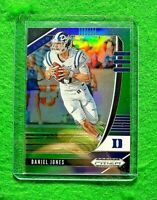 DANIEL JONES PRIZM PURPLE AND GREEN CARD SP #/199 GIANTS 2020 PRIZM DRAFT PICKS