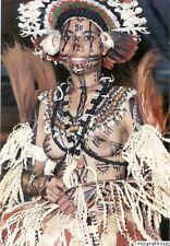 Unique 3 Tiers Sing Sing Shells Seeds Bilas Necklace Ornament Papua New Guinea 2