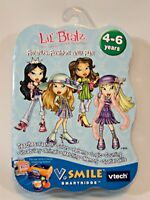 Lil Bratz VTECH V Smile Friends Fashion and Fun Game Learning System Cartridge