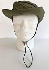 Unissued Original 1969 Vietnam O.D. Jungle Boonie Hat W/Insect Net 6 7/8