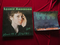 LAURIE ANDERSON United States Live 5-LP-Box OIS  & BOOK  Vinyl:mint- Box/Book:vg