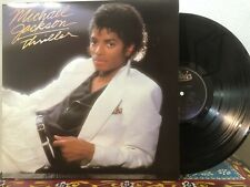 MICHAEL JACKSON Thriller EPIC LP VG+ gatefold funk soul