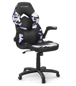 BlitzWolf® BW-GC4 Gaming Chair Racing Style with Camouflage