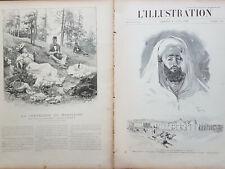 L' ILLUSTRATION 1894 N 2677- LA MORT DE L'EMPEREUR  DU MAROC,  MOULEY- HASSAN