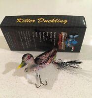 New Killer Crank 6cm Wild Surface Duck/Duckling Murray Cod/Bass Fishing Lure