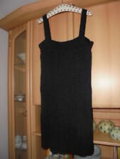 H&M Tunika 🌻 festlich Damen 🌻 L XL 42 44 🌻 schwarz Kleid Minikleid Träger-Top