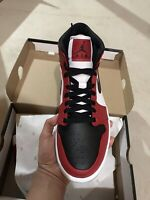 Jordan 1 Mid Chicago Black Toe Mens Size Authentic IN HAND READY TO SHIP
