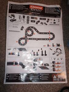 Carrera Go Mario Kart DS Electric Slot Car Set - Used