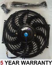 """Universal 12"""" Classic MOTEUR VOITURE RADIATEUR INTERCOOLER Ventilateur de refroidissement Slimline 12 V"""