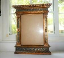 VINTAGE ITALIAN GOLD GILT CARVED WOOD PICTURE FRAME LARGE GORGEOUS