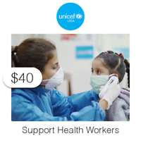 $40 Charitable Donation For: Supporting Health Workers