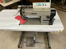 INDUSTRIAL JUKI DDL 55506 AUTO  SEWING MACHINE WITH SERVO MOTOR , JAPANESE MADEL