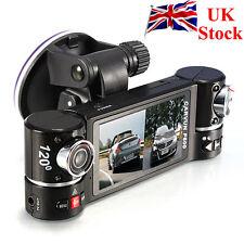 GPS Dual Lens Camera Car DVR Dash Cam Video Recorder G-Sensor Night Vision F600