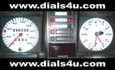 VOLKSWAGEN VW TRANSPORTER T3 / T25 Type 2 (1979-1990) - 180km/h - WHITE DIAL KIT