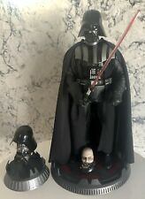 "DARTH VADER DELUXE 1/6 Figure SIDESHOW Star Wars 12"" 2013"
